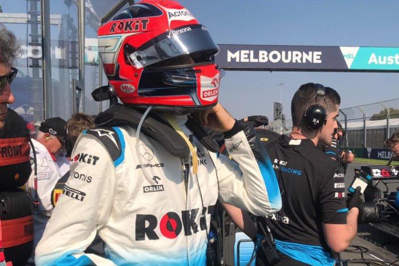 Robert Kubica krytycznie o swoim bolidzie po Grand Prix Australii.