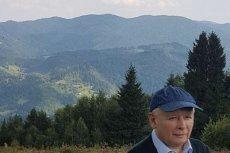 Joachim Brudziński opublikował zdjęcie prezesa Kaczyńskiego na tle gór.
