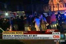 Strzelanina na uniwersytecie na przedmieściach Bostonu. Zginął policjant