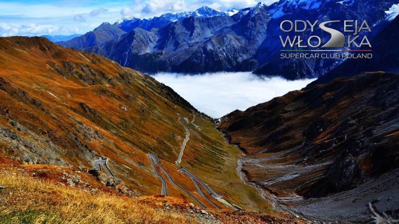 Warto przyjechać tu dla krajobrazów, dla jazdy polecamy Dolomity