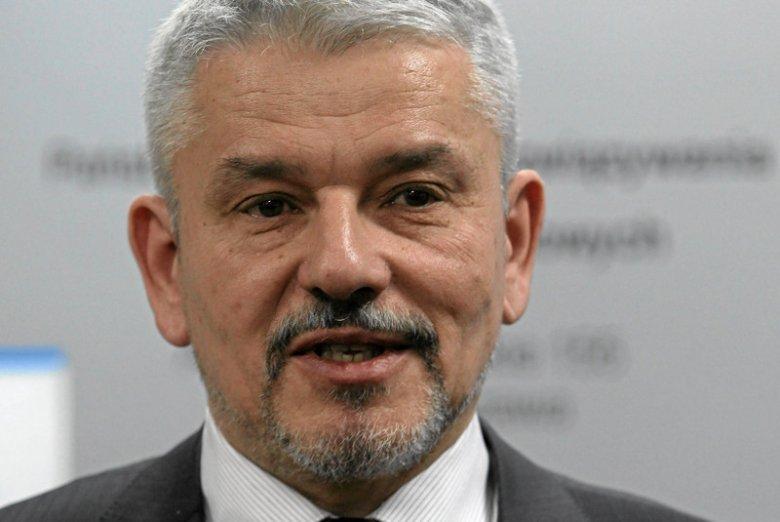 Krzysztof Brzózka, dyrektor Państwowej Agencji  Rozwiązywania Problemów Alkoholowych.