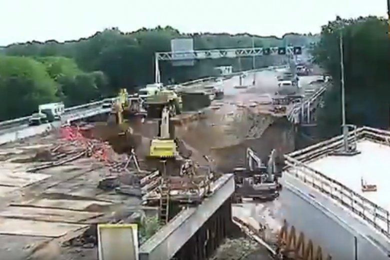 W 2016 roku w Holandii zbudowano tunel pod autostradą w weekend – internauci przypominają nagranie.