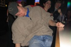 Pijany uczestnik imprezy