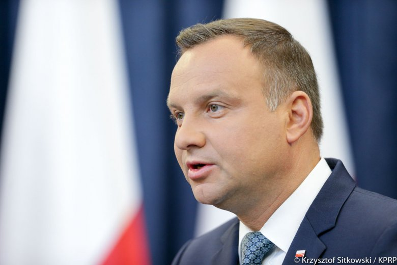 Prezydent RP Andrzej Duda  fot. Krzysztof Sitkowski / KPRP