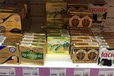 Cena masła drastycznie skoczyła w górę.
