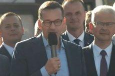 W Świdnicy premier mówił o walce PiS za wolność Polski w latach 80.
