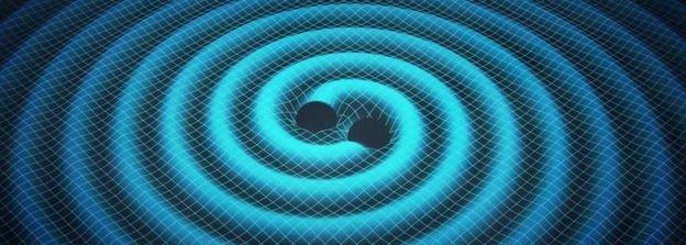 Czarne dziury poruszając się po ciasnej orbicie wysyłają zaburzenia czasoprzestrzeni - fale grawitacyjne przewidziane 100 lat temu przez A. Einsteina, odkryte przez obserwatorium LIGO