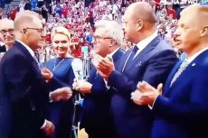 Ryszard Czarnecki zostałwygwizdany przez kibiców.