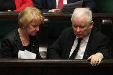 Prezes PiS wygłosił wzruszające przemówienie podczas pogrzebu Jolanty Szczypińskiej.