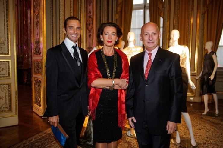 od lewej: tancerz baletowy Arnaud Dreyfus oraz Aleksandra i Tomasz Orłowscy.