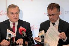 Minister kultury Piotr Gliński i wiceminister kultury Jarosław Sellin – to w tym resorcie podjęto prace nad pomysłem repolonizacji mediów.