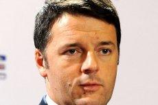 Matteo Renzi, premier Włoch, podaje się do dymisji.