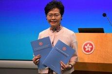 Carrie Lam, szefowa administracji Hongkongu od 1 lipca 2017 roku. Nie popiera obecnych protestów.