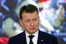 """Na policyjnym forum internetowym, funkcjonariusze """"dziękują"""" odchodzącemu ministrowi Błaszczakowi."""