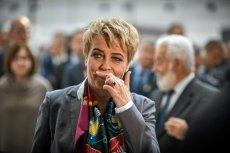 Hanna Zdanowska z zarzutem poświadczenia nieprawdy