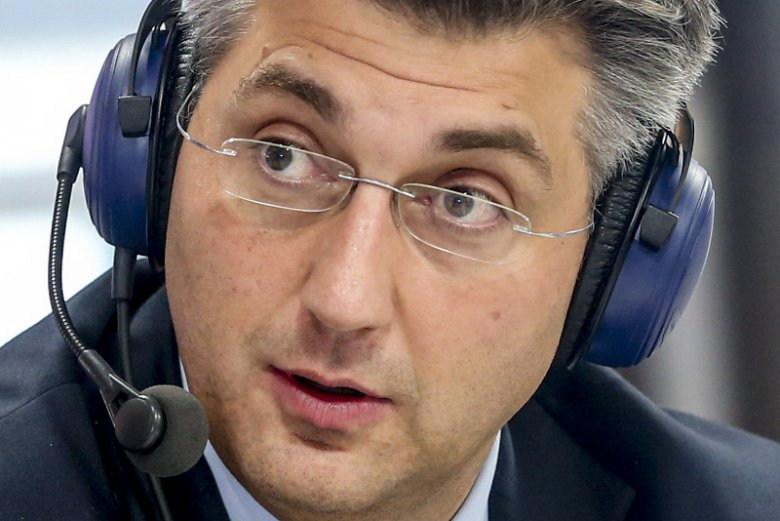 Andrej Plenković został szefem Chorwackiej Wspólnoty Demokratycznej w lipcu 2016 r.