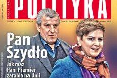 """""""Polityka"""" opisuje, jak mąż Beaty Szydło zarabia na Unii Europejskiej."""