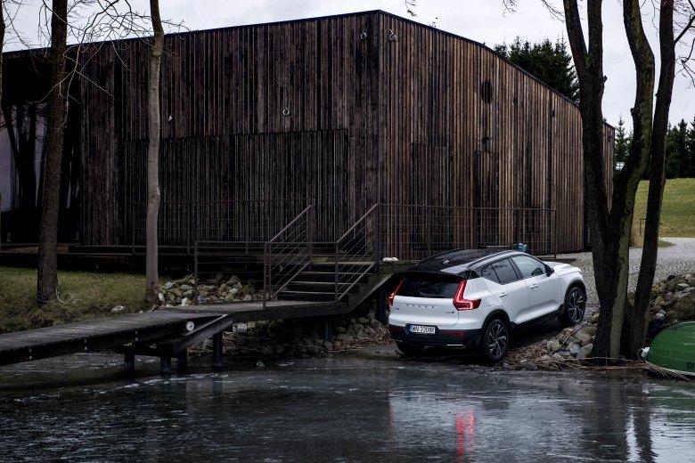 Volvo XC40 podbija Mazury