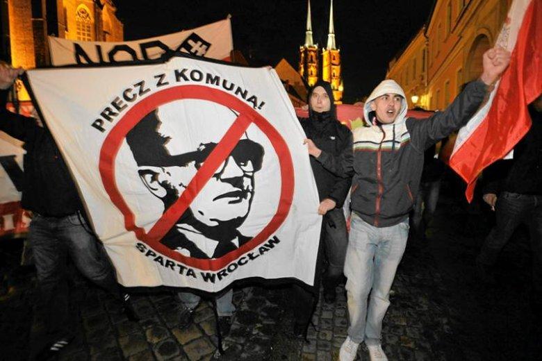 Marsz w rocznicę wprowadzenia stanu wojennego, Wrocław, 2011 r.