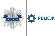 Stare i nowe logo Policji.