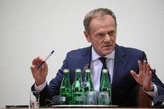 Donald Tusk stawił się w poniedziałek przed komisją do spraw VAT.
