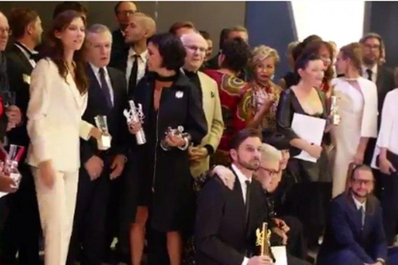 Kamila Kamińska odebrała w Gdyni nagrodę za profesjonalny debiut. Ale sławę zyskała też przy okazji zdjęcia z ministrem Piotrem Glińskim.
