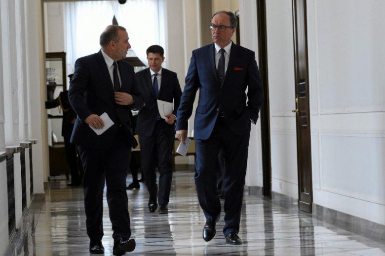 Zgrzyt w koalicji Europejskiej.