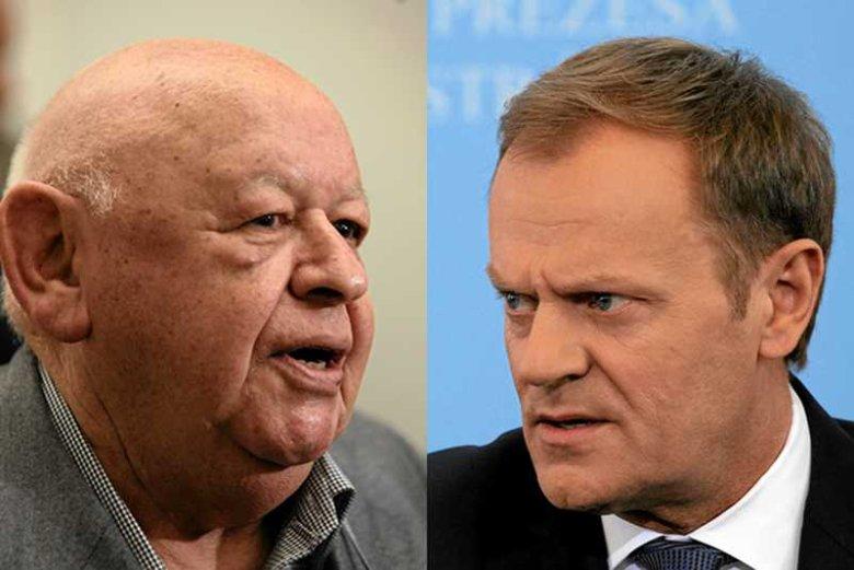 """Premier Donald Tusk wytoczył proces Jerzemu Urbanowi za primaaprilisowy żart w tygodniku """"NIE"""""""