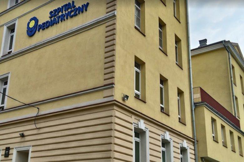 Szpital Pediatryczny w Bielsku-Białej.