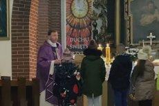 Ksiądz Dariusz Olejniczak chce przeniesienia do stanu świeckiego.