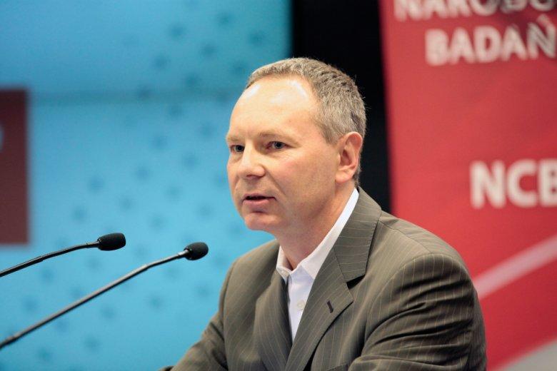 foto: Leszek Wisniewski, Adam Maciejewski - Prezes Giełdy Papierów Wartościowych