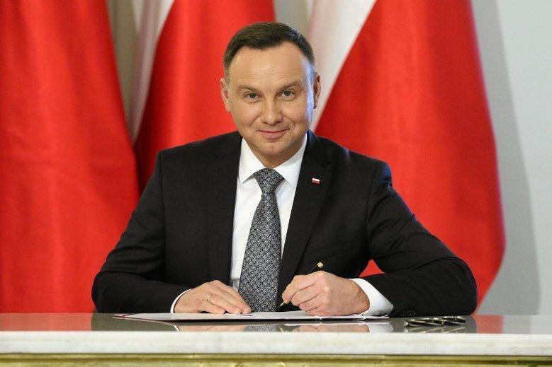 Andrzej Duda próbował tłumaczyć zasady orzekania niekonstytucyjności przepisów. Reakcja była natychmiastowa.