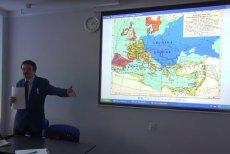 Prof. Ryszard Kozłowski z Krakowa głosi teorię tzw. Imperium Lechitów.