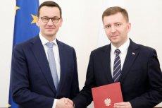 Łukasz Schreiber został ministrem w Kancelarii Prezesa Rady Ministrów