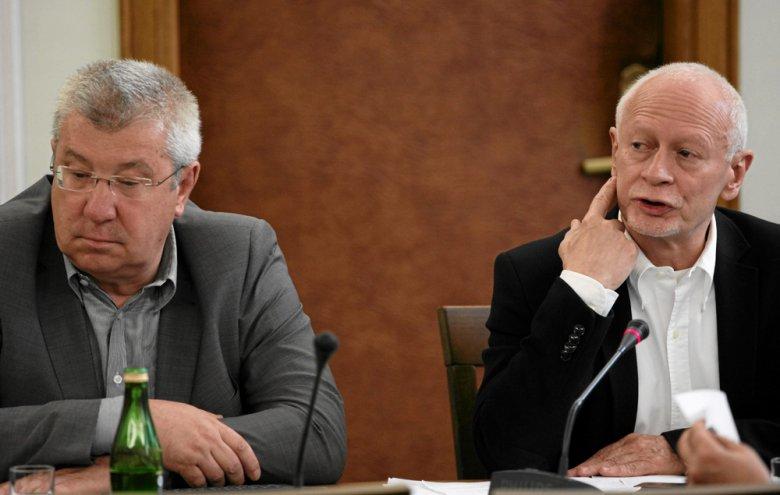 Jan Dworak i Michał Boni w Sejmie