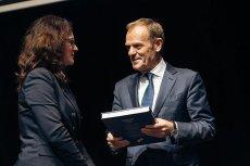 W środę Donald Tusk pojawił się na spotkaniu z sympatykami w ECS w Gdańsku.