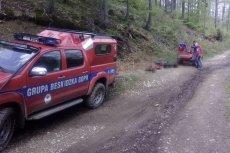 Zwłoki mężczyzny znaleziono na zboczu góry Stożek w Beskidzie Śląskim