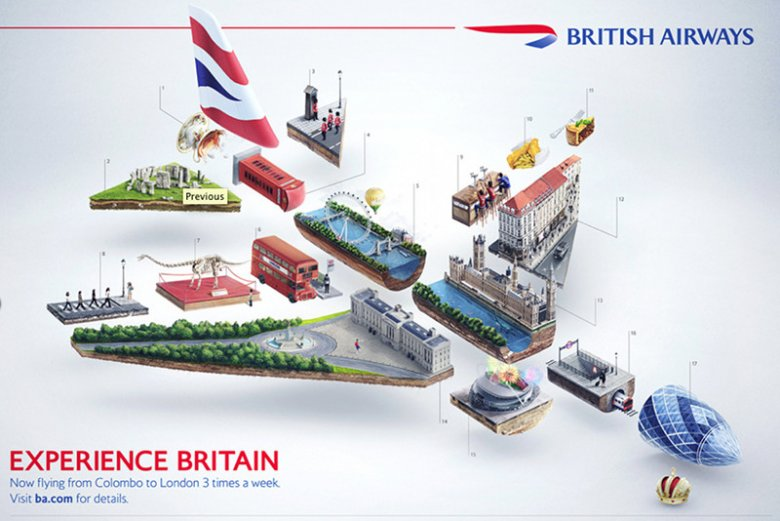Reklama British Airways
