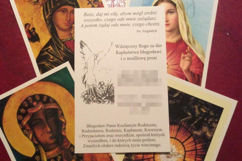 Zdjęcie zamieszczone przez księdza K. w 9. rocznicę święceń kapłańskich.