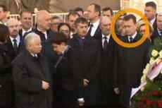 Spójrzcie tylko na pełną rozczarowania i zazdrości minę Mariusza Błaszczaka. Najwierniejszego człowieka Jarosława Kaczyńskiego wyraźnie zasmuciło, iż to nie jego wskazał prezes PiS.