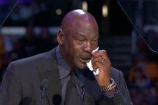 Michael Jordan ze łzami w oczach wspominał Kobego Bryanta w Los Angeles.