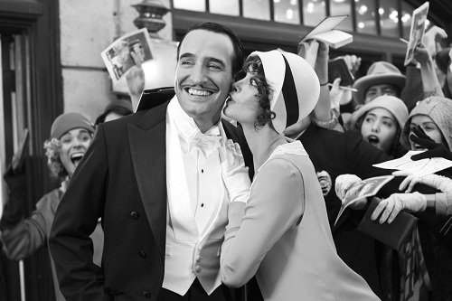 """Jean Dujardin i Berenice Bejo - kadr z filmu """"Artysta"""""""