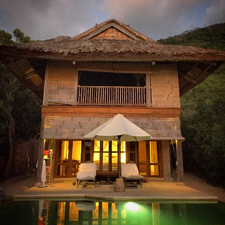 Nasza willa w Six Senses Ninh Van Bay
