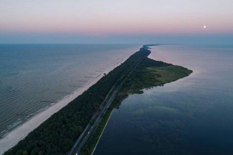 Trasa z Gdyni na Hel jest jedną z najbardziej chwalonych przez turystów