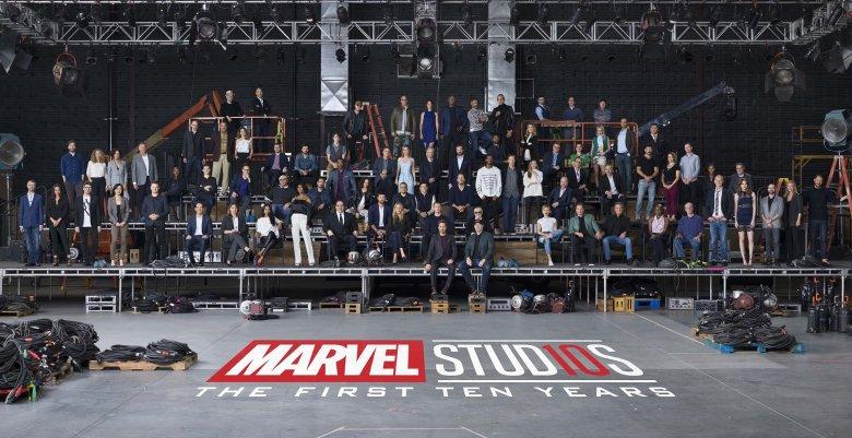 Wszyscy aktorzy wcielający się w superbohaterów Marvela na jednym zdjęciu