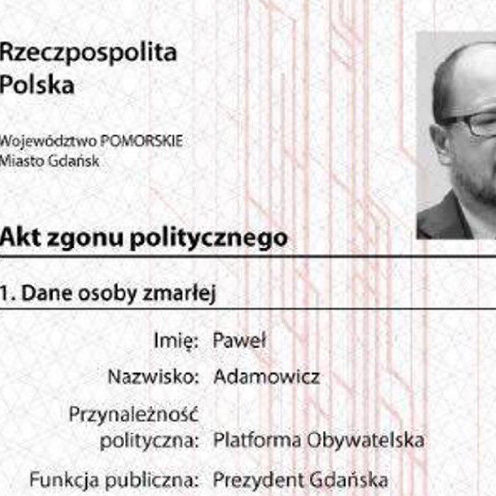 Prokuratura Umorzyła Sprawę Aktu Zgonu Politycznego Pawła