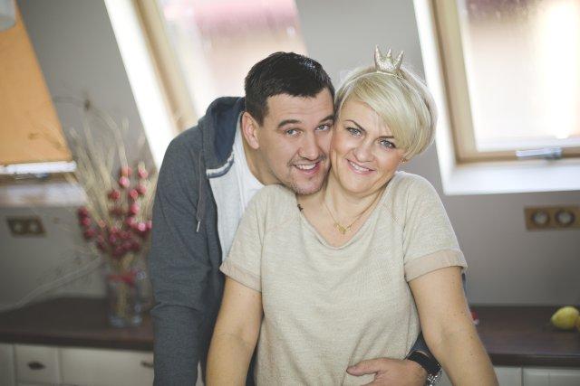 Mama Dawczyni, Agnieszka Klecha z mężem