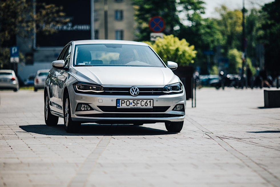 Nowy Volkswagen Polo zdecydowanie wyróżnia się w swojej klasie.