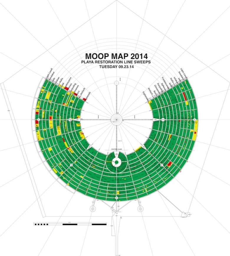 Plan terenu festiwalu