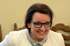 Minister Anna Zalewska odwołała swój udział w XI Kongresie Zarządzania Oświatą w Gdańsku